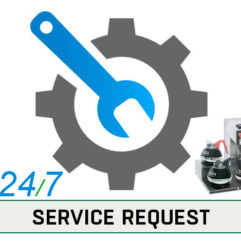 Service Button Service Request
