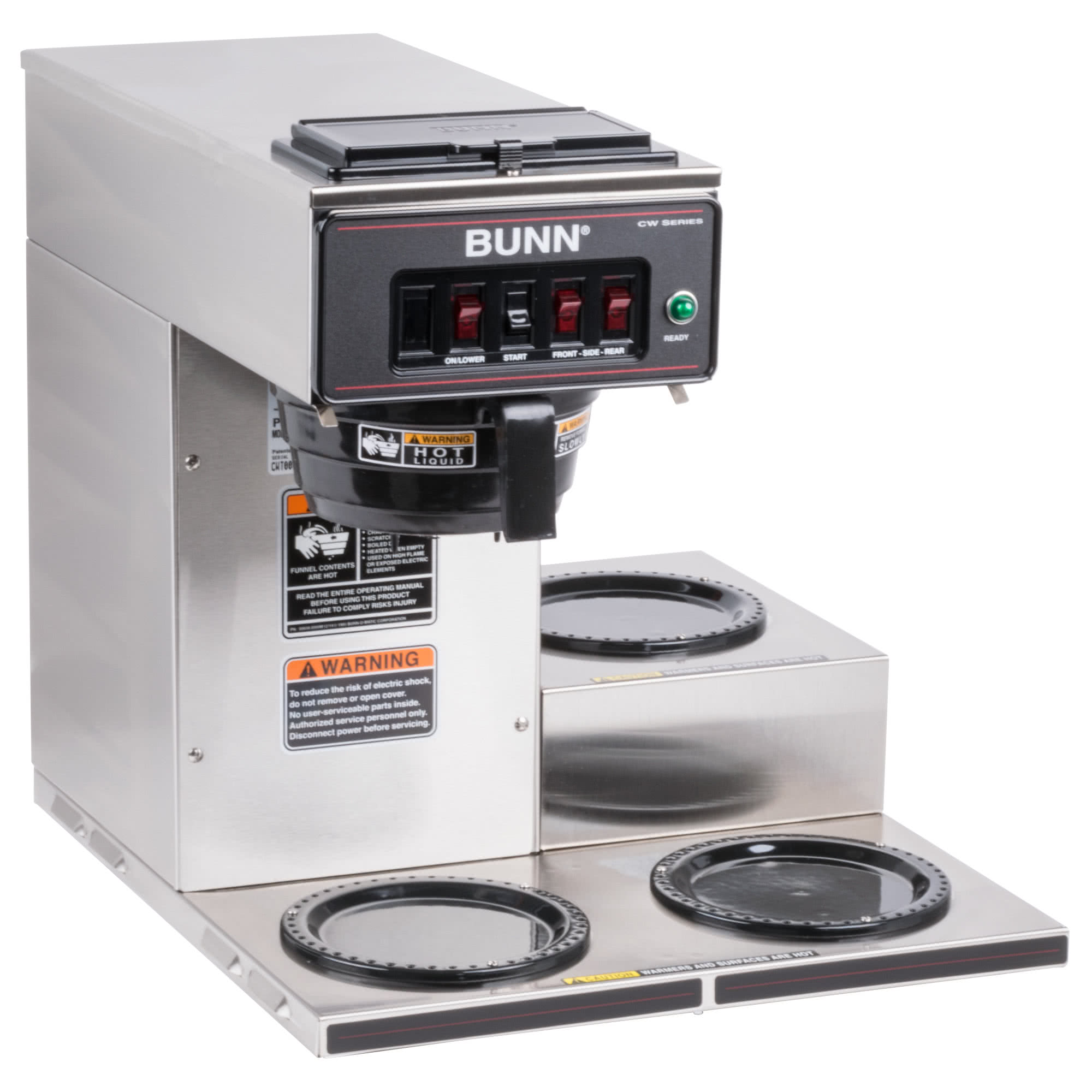 Bunn Coffee Grinder Parts Cw Wiring Diagram Cup Automatic Brewer With Lower Warmers Refurbished 2000x2000